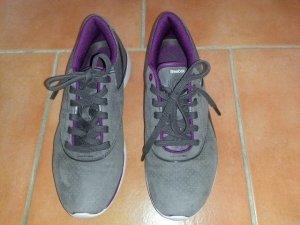 Reebok Zapatillas gris antracita-púrpura