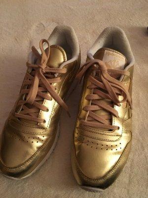 Reebok Face Stockholm goldene Sneaker Gr.40
