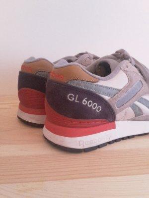 Reebok GL 6000 Camo 36 grau/lila/rot Sneaker nike adidas