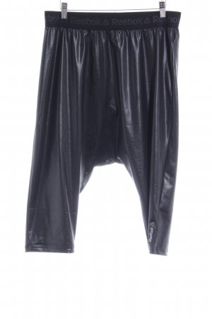 Reebok Harem Pants black wet-look