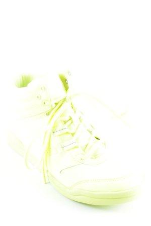 Reebok High Top Sneaker neongelb sportlicher Stil