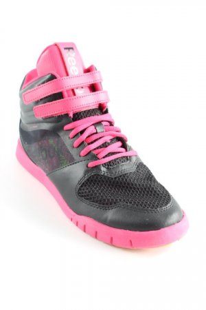 Reebok High Top Sneaker schwarz-pink sportlicher Stil