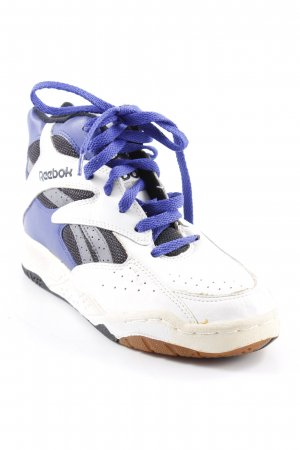 Reebok High Top Sneaker Streifenmuster sportlicher Stil