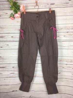 Reebok Pantalon cargo taupe-magenta