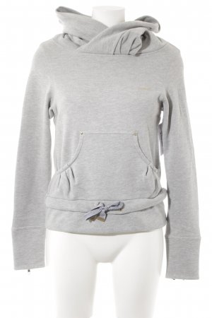 Reebok Jersey con capucha gris claro estilo deportivo