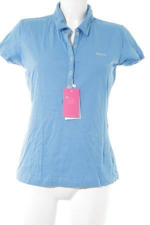 Reebok Polo-Shirt hellblau Casual-Look