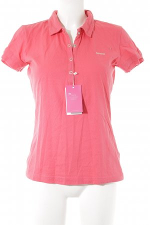 Reebok Polo-Shirt pink Casual-Look