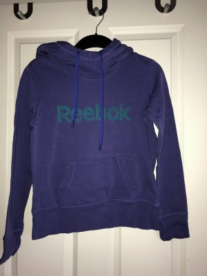 Reebok Jersey con capucha violeta oscuro-azul cadete