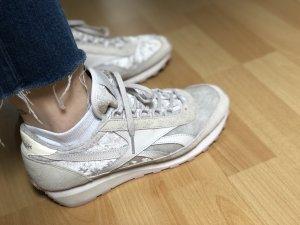 Reebok Retro Sneaker Samt rose nude
