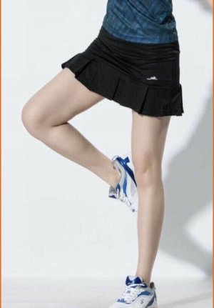 Reebok Flounce Skirt dark blue cotton