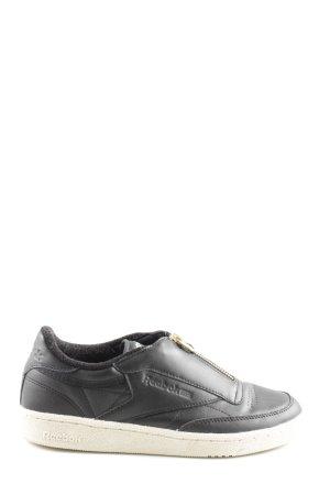 Reebok Slip-on Sneakers black-white casual look
