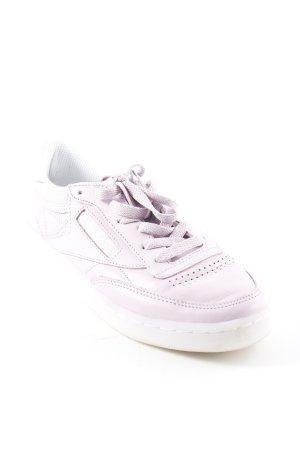Reebok Lace-Up Sneaker mauve leather