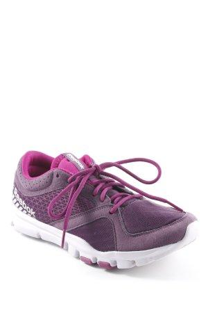 Reebok Schnürsneaker dunkelviolett-violett sportlicher Stil