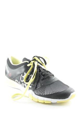 Reebok Schnürsneaker neongelb-schwarz sportlicher Stil