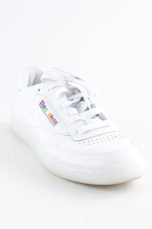 Reebok Sneakers met veters wit retro uitstraling