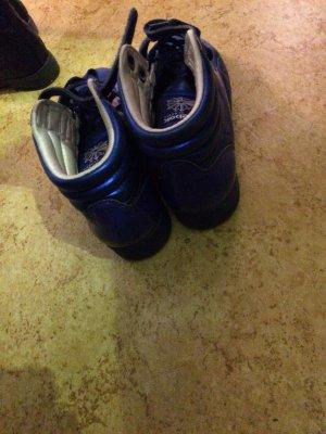 Reebok Schuhe Blau metallic