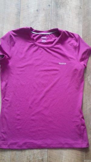 Reebok Camisa de un solo hombro violeta