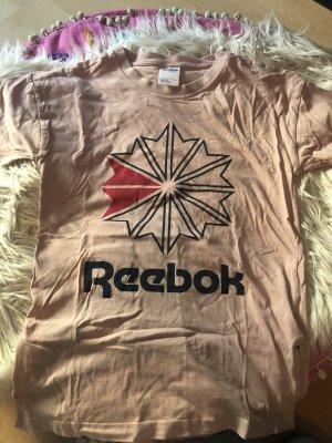 Reebok-Shirt in Rosé