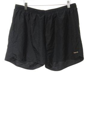 Reebok Shorts schwarz sportlicher Stil