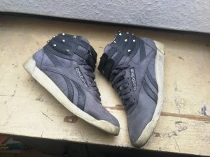 Reebok High Top Sneaker grey violet leather