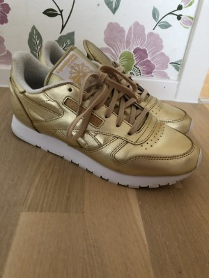 Reebok Sneaker Gold Gr: 40 wie neu