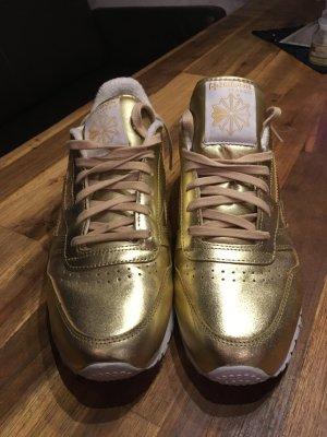 Reebok Sneaker Gold  neuwertig