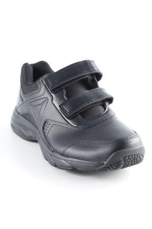 Reebok Sneaker Klettverschluss schwarz sportlicher Stil