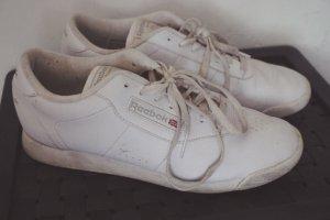 Reebok Sneaker Turnschuhe Schuhe weiß retro vintage bequem 39