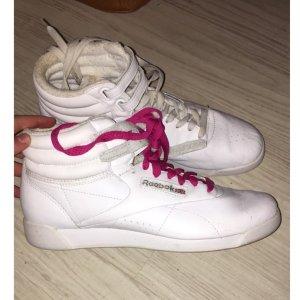 Reebok sneaker weiß pink