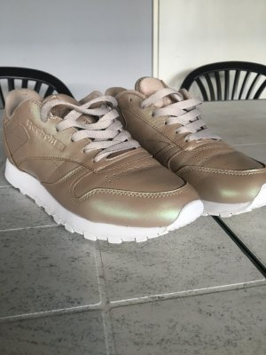 Reebok SNEAKERS in metallicgold