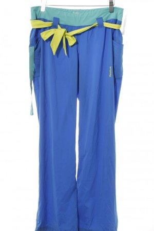 Reebok Sporthose blau-türkis sportlicher Stil