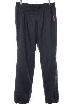 Reebok Sporthose schwarz-magenta sportlicher Stil