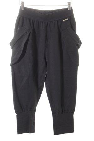 Reebok Sporthose schwarz sportlicher Stil