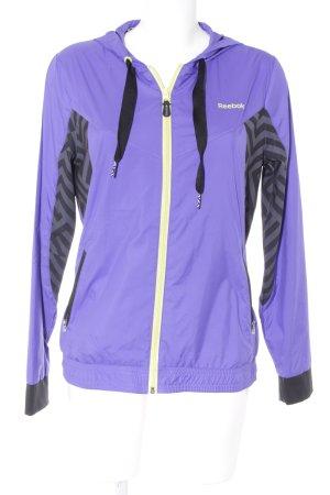 Reebok Sportjacke dunkelviolett sportlicher Stil
