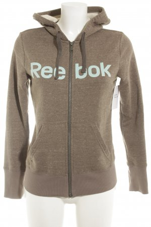 Reebok Sweat Jacket light brown athletic style