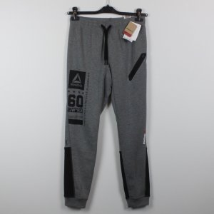 Reebok Sweat Pants black-grey mixture fibre