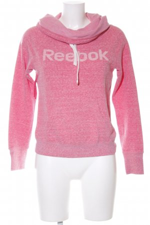 Reebok Sweatshirt pink meliert Casual-Look