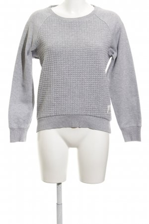 Reebok Sweatshirt hellgrau Casual-Look