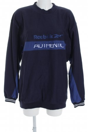 Reebok Sweatshirt Streifenmuster Casual-Look