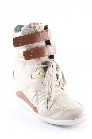 Reebok Wedge Sneaker Mustermix Reptil-Optik