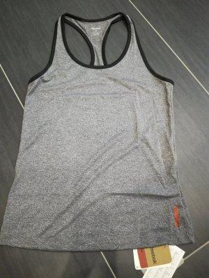 Reebok Workout Damen Fitness Tank Top, Gr.S, grau, neu mit Etikett & OVP