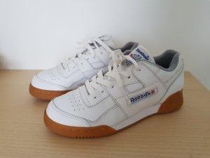 Reebok Workout Plus 35,5/36 Weiß/Gum Sohle Classic Nike adidas