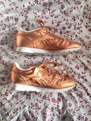 Reebok x Face Stockholm Classic Leather Sneaker rosagold bronze kupfer