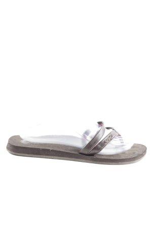 Reef Flip-Flop Sandals light grey casual look