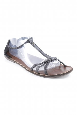 Reef Outdoor-Sandalen braun-schwarz Casual-Look
