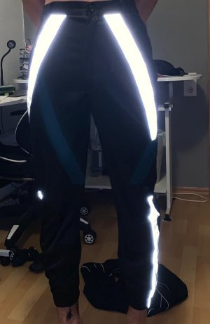 Alive Pantalone a vita alta nero