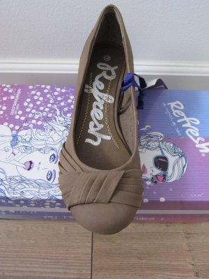 Refresh Keil-Pumps Taupe