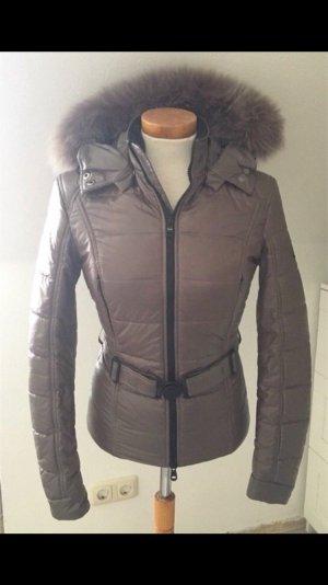 Refrigiwear Jacke Kaputze Fell taube original S xs 34 winterjacke steppjacke