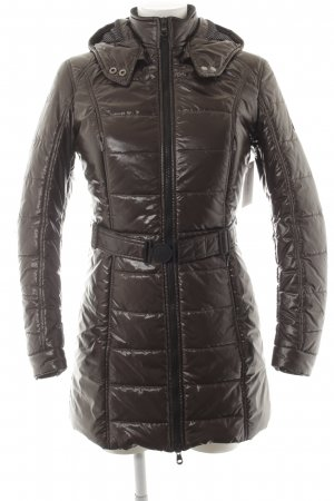 Refrigiwear Quilted Coat brown-black classic style