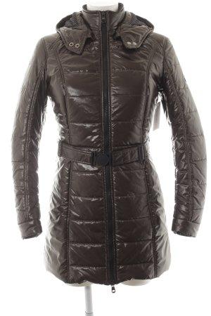 Refrigiwear Steppmantel braun-schwarz klassischer Stil